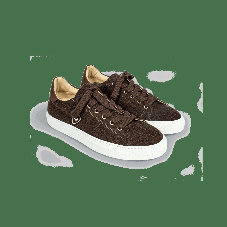 Strizi Schuhe Sneaker braun lowcut 4 Strizi