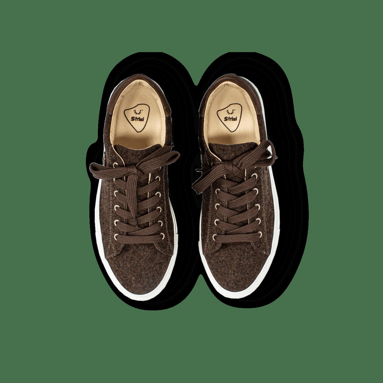 Strizi Schuhe Sneaker braun lowcut 5 Strizi