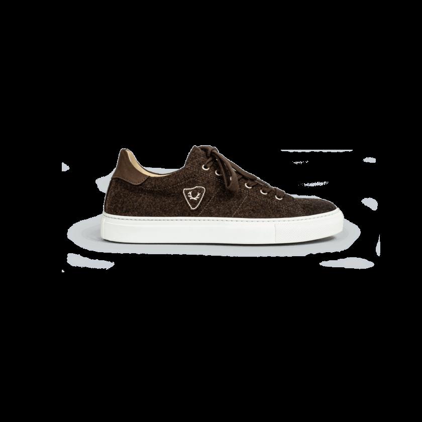 Strizi Schuhe Sneaker braun lowcut Strizi