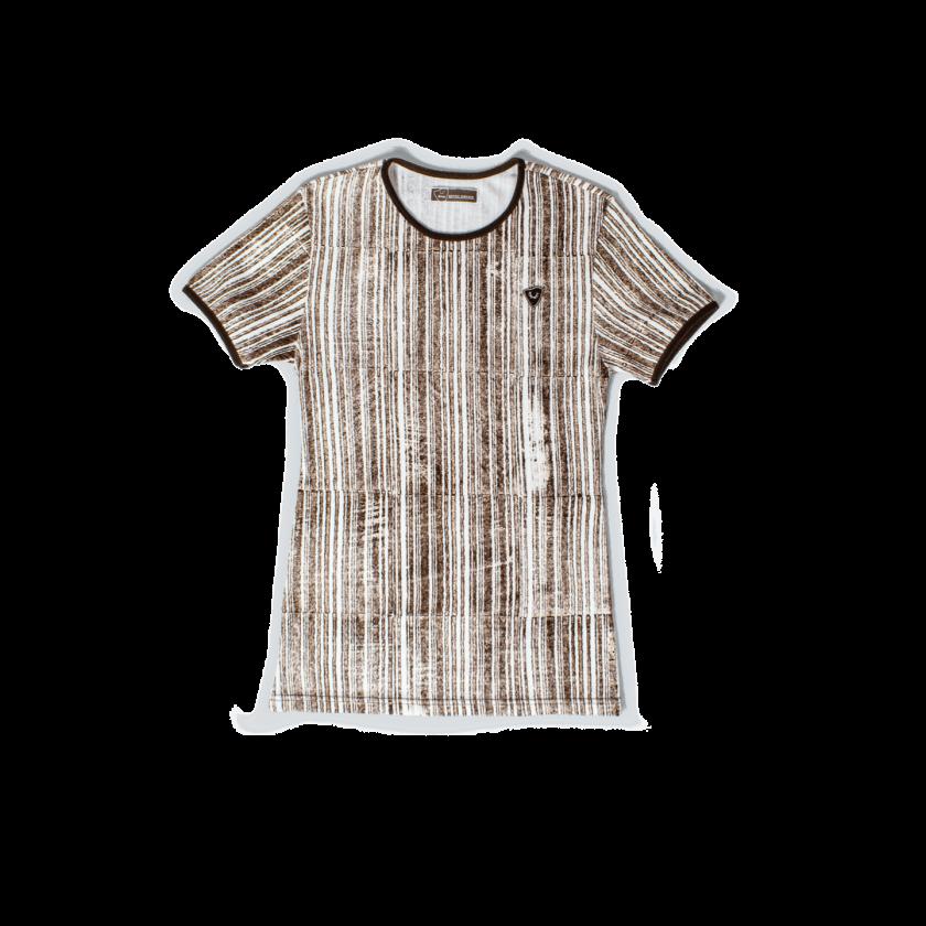 Strizi-Holzmodl-Shirt-Streifen
