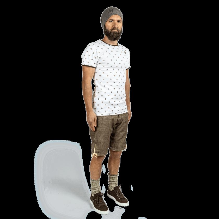 Strizi-Holzmodl-Shirt