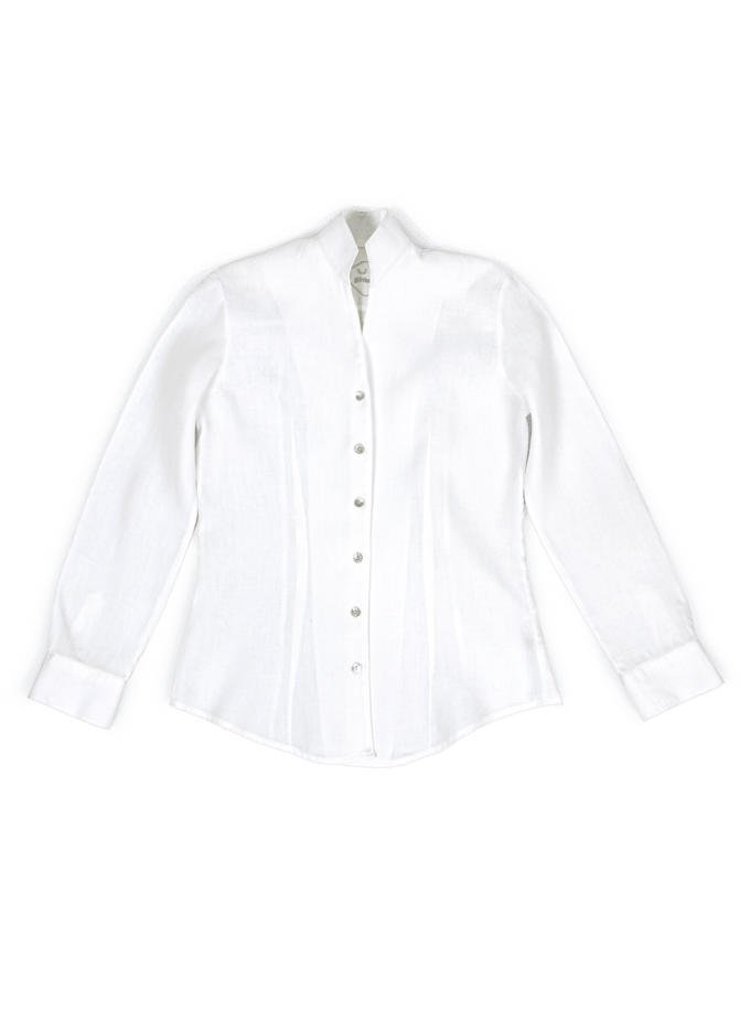 Strizi-Damen-Bluse Stehkragen