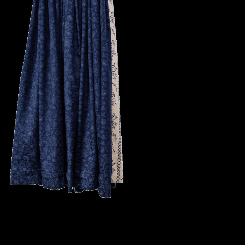 Strizi-Damen-Dirndl-Damen-Dirndl-blau-Holzmodl-Gr44