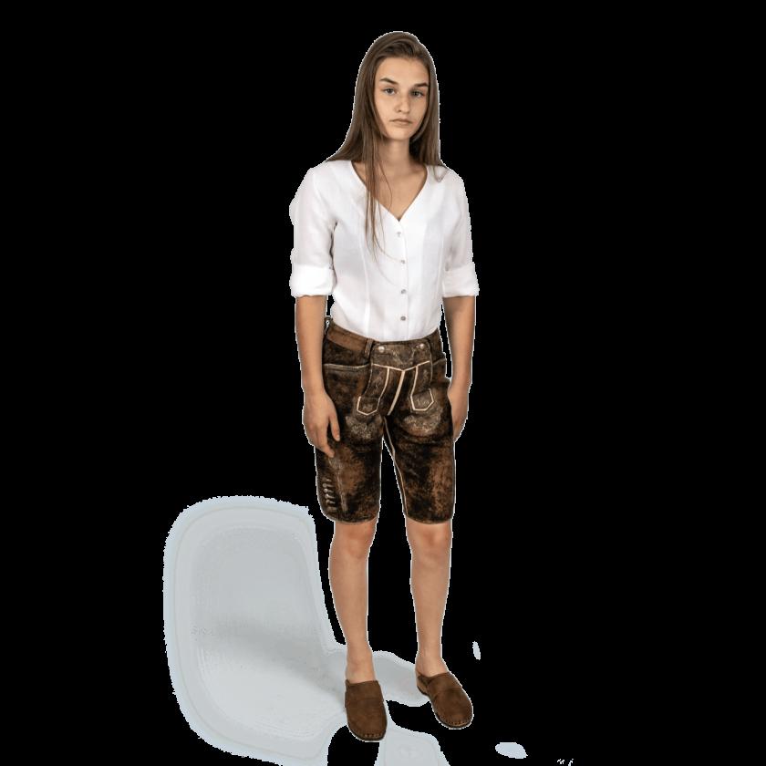 Strizi-Damen-Lederhose-kurz