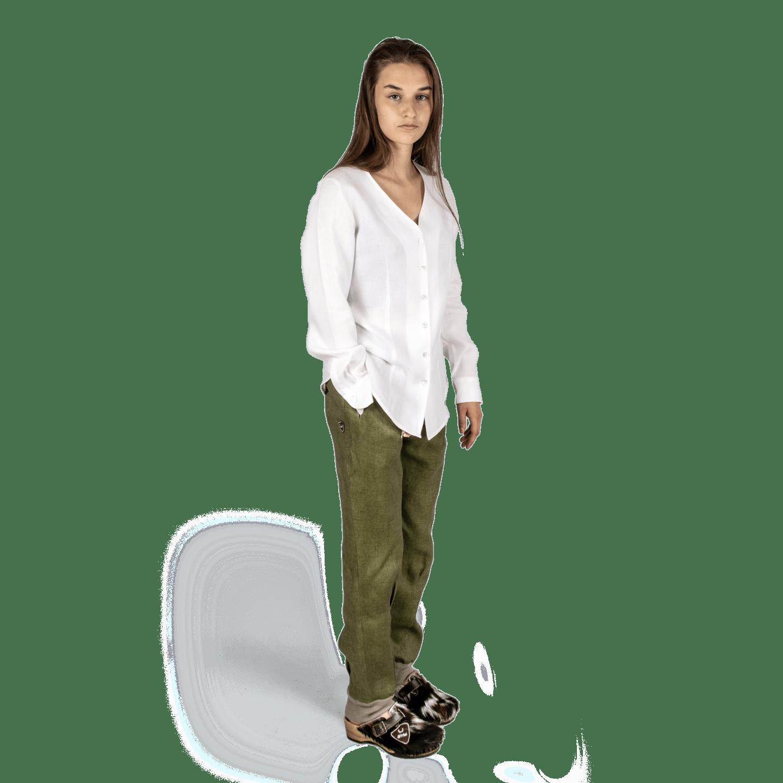 Strizi-Damen-Relaxhose-Leinen