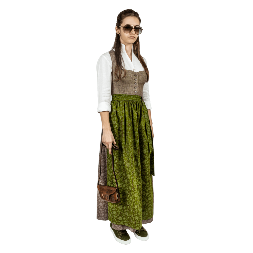 Strizi-Dirndl-Look