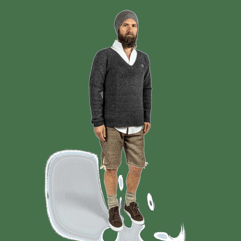 Strizi-Herren-V-Pullover