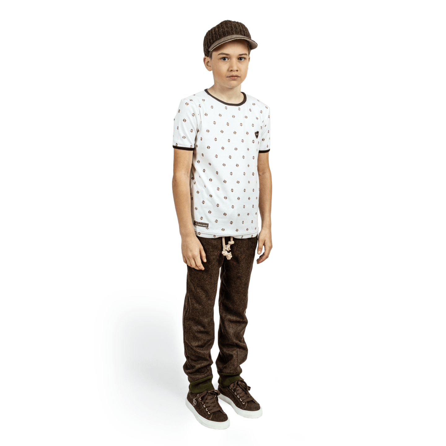 Strizi-Kinder-Holzmodlshirt-look
