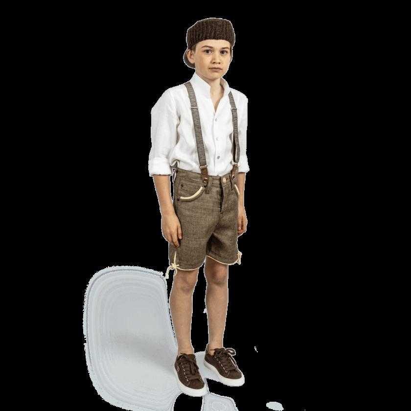Strizi-Kinder-Leinenhos-Kurz