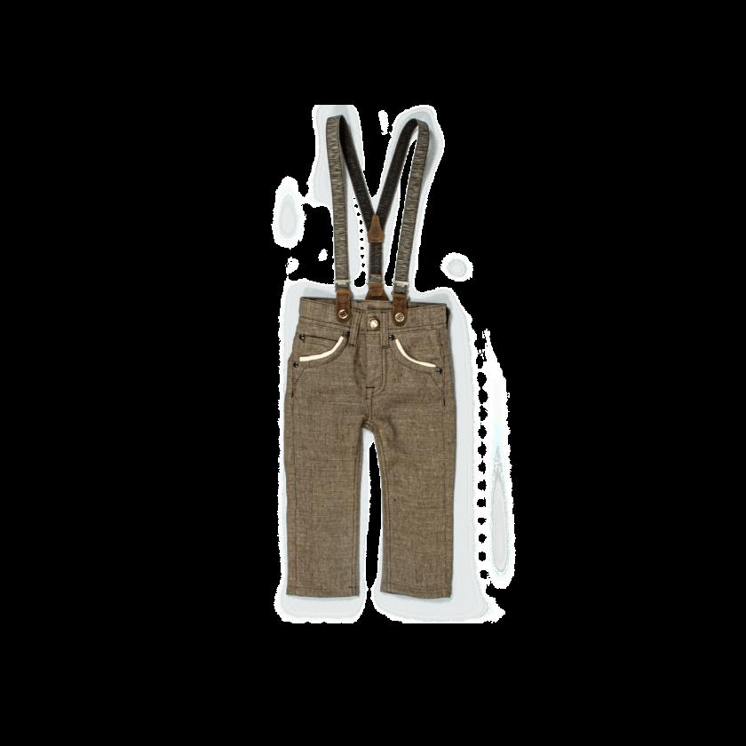 Strizi-Kinder-Leinenhose