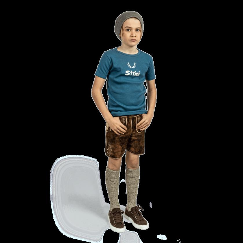 Strizi-Kinder-Striz-Shirt-petrol