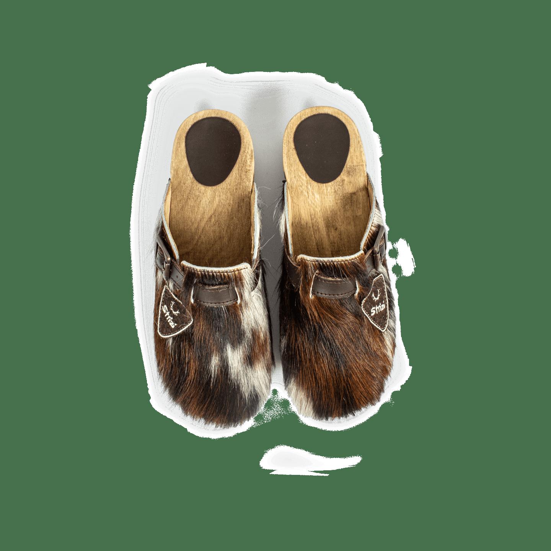 Strizi Schuhe Holzschuhe fellnubuk verbunden 2 Strizi