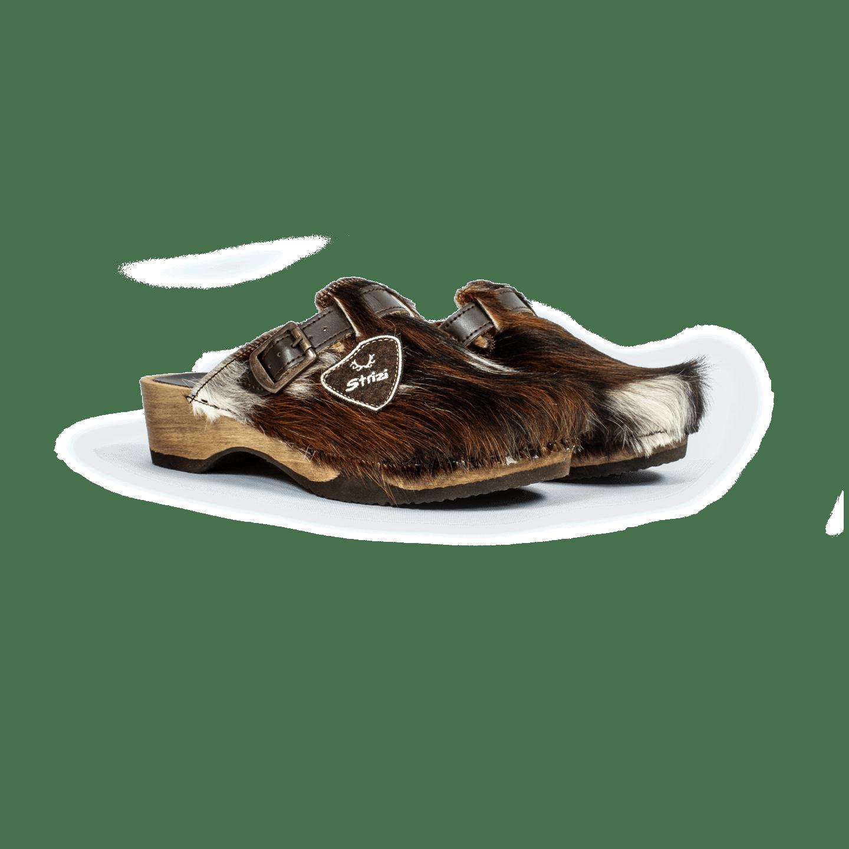 Strizi Schuhe Holzschuhe fellnubuk verbunden 3 Strizi