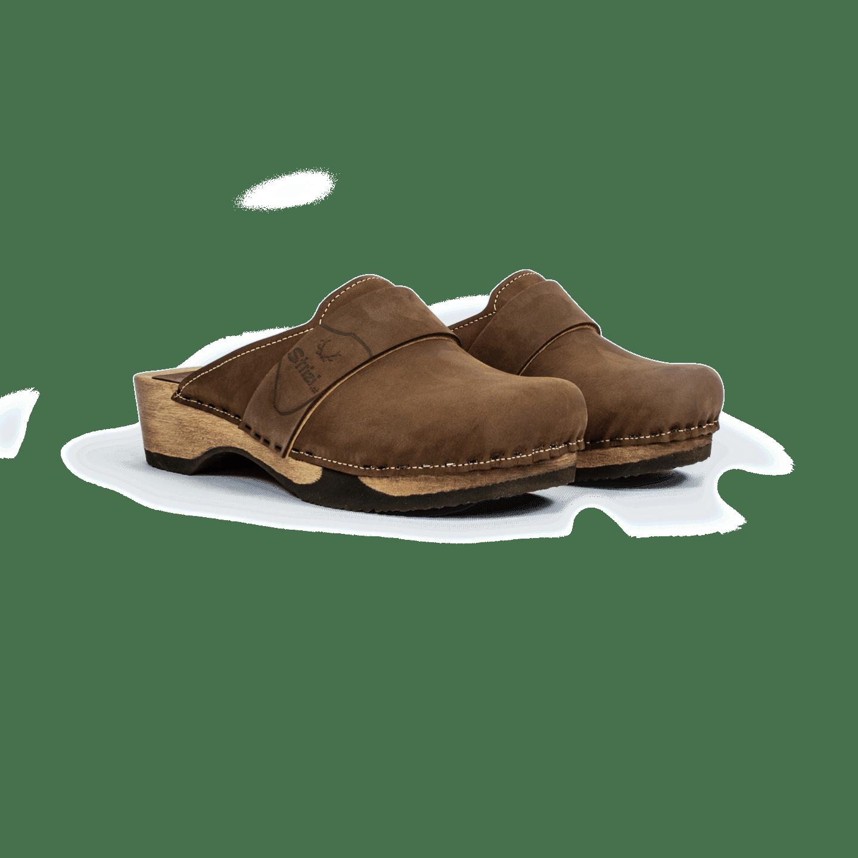 Strizi Schuhe Holzschuhe fellnubuk verbunden glatt 3 Strizi