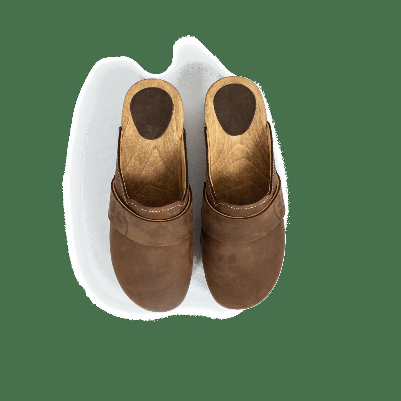 Strizi Schuhe Holzschuhe fellnubuk verbunden glatt Strizi