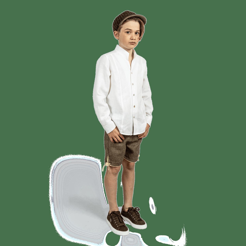 Strizi Schuhe Kinder Leinenhemd 1 Strizi