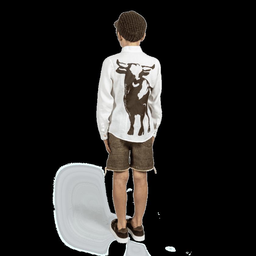 Strizi-Schuhe-Kinder-Leinenhemd