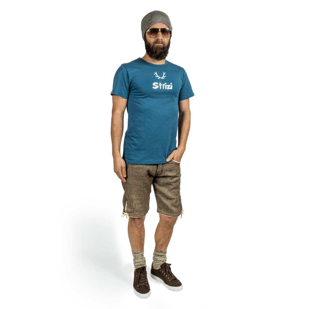 Strizi-Shirt-Petrol