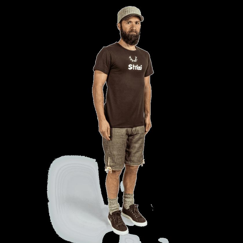 Strizi-Shirt-braun
