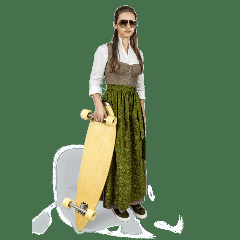 Strizi-Damen-Dirndl-Lisa-Longboard
