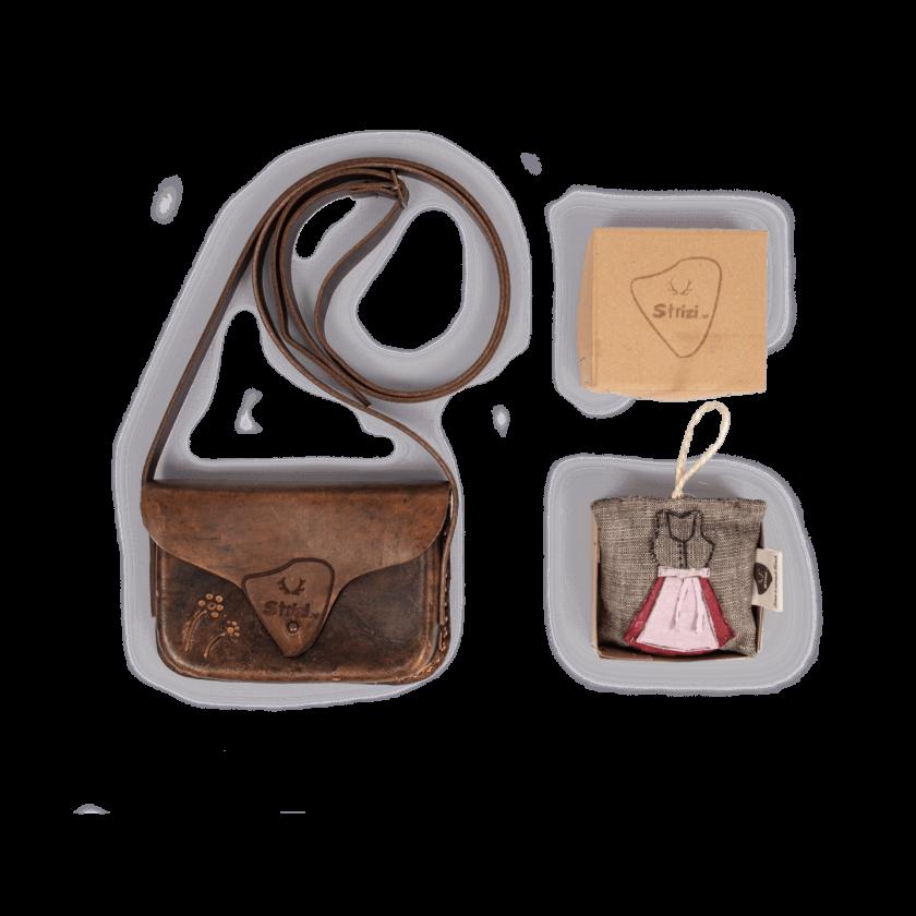 Strizi Damen Geschenk Dirndlgutschein Handtasche Strizi