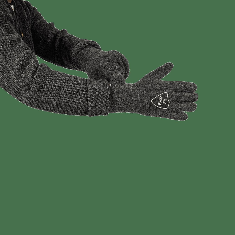 Strizi Handschuh Fingerling grau 3 Strizi