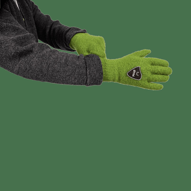 Strizi Handschuh Fingerling gruen 3 Strizi