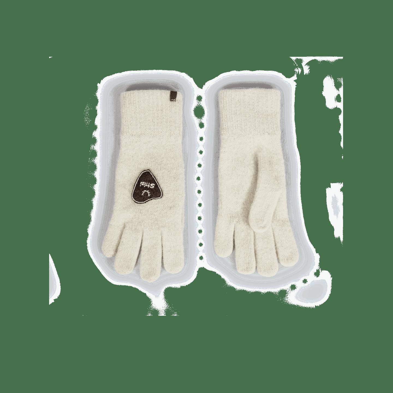 Strizi Handschuh Fingerling weiss 2 Strizi