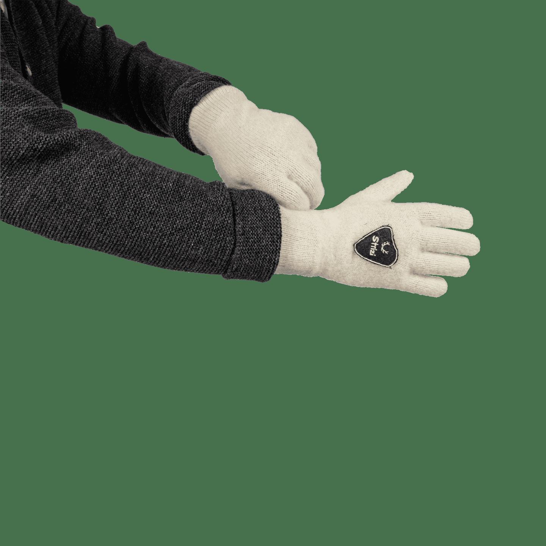 Strizi Handschuh Fingerling weiss 3 Strizi